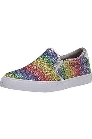 Nine West Damen Lala10 Sneaker, Regenbogen-Glitzer