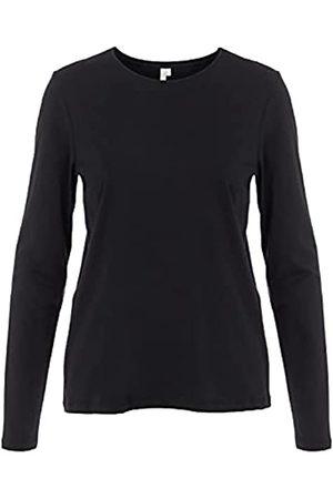 PIECES Damen PCRIA LS New Tee NOOS T-Shirt, Black