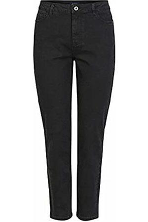 Pieces Damen Baggy & Boyfriend - Female Mom Jeans Stretch XLBlack Denim