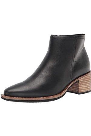 Ecco Damen Shape 35 Sartorelle Ankle Boot, Black