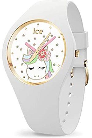 ICE-WATCH ICE fantasia White -e Damenuhr mit Silikonarmband - 016721 (Small)