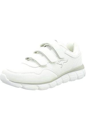 KangaROOS KR-Cali V Damen Sneaker, (white/vapor grey)