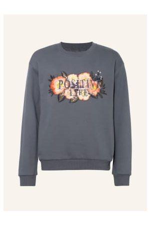 NAME IT Damen Sweatshirts - Sweatshirt Mit Paillettenbesatz