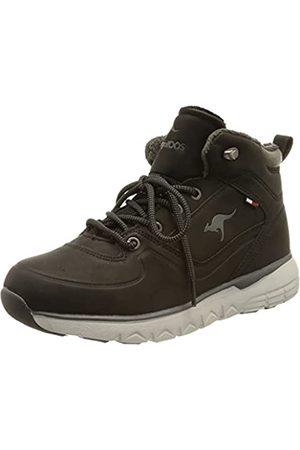 KangaROOS Damen K-TS Fondo RTX Sneaker, Jet Black/Steel Grey
