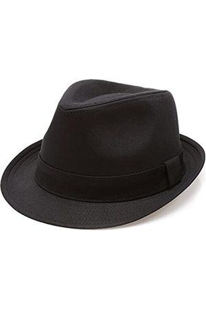 MIRMARU Klassischer Trilby-Hut mit kurzen Krempen