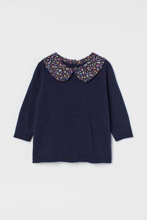 H&M Mädchen Shirts - Pullover mit Kragen
