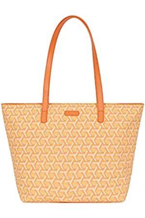 Hexagona Damen Handtaschen - Signature, Umhängetasche für Damen aus beschichtetem Canvas Umhängetasche Damenhandtasche Umhängetasche Kleine Tasche Umhängetasche, L : 44 x h : 28