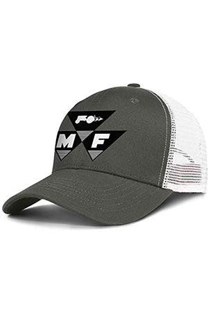 Zrkmh Herren Vintage Stickerei Trucker Hat Massey -Ferguson Farm-Traktor Caps Einstellbare Baseball Cap Fashion Logo Snapback Dad Hüte - - Einheitsgröße