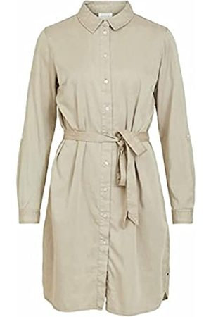 VILA Damen VIBISTA Denim Belt Dress/SU-NOOS Kleid