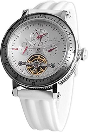 Folli Follie Herren Automatik Uhr mit Edelstahl Armband S0355446