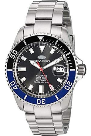 Seapro Herren Scuba 200 Automatik Edelstahl Armband Silber 22 Casual Watch (Modell: SP4321)