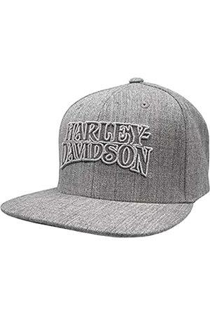 Wisconsin Harley-Davidson Harley-Davidson Men's Ironhead Snapback Flat Brim Baseball Cap - Heather