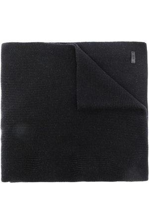 HUGO BOSS Gestrickter Schal mit Logo
