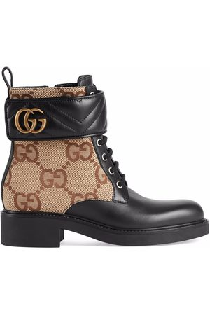 Gucci Stiefeletten aus GG Canvas