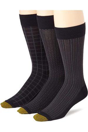 Gold Toe Mode Feuchtigkeitsregulierung Kleid Socken für Männer (3-Pack) 38-46