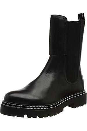 Marco Tozzi Damen 2-2-25481-27 Leder Boot, Black/White