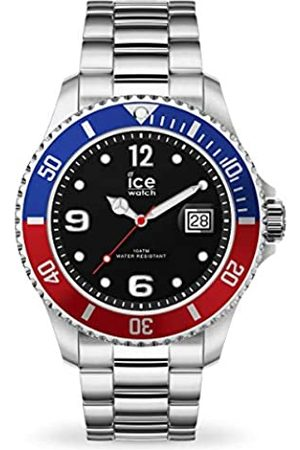 ICE-WATCH ICE steel United silver -graue Herren/Unisexuhr mit Metallarmband - 016545 (Medium)