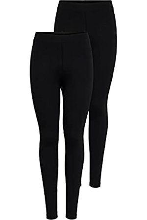 ONLY Damen Onllive Love New 2-Pk Noos Leggings