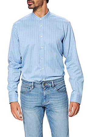 Seidensticker Herren Business Hemd - Bügelfreies Hemd mit geradem Schnitt - Regular Fit - Langarm - Stehkragen - 100% Baumwolle