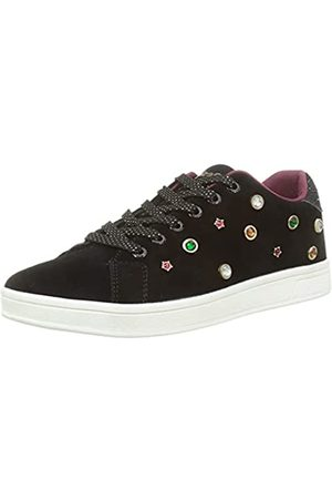 Desigual Damen Shoes_Cosmic_Jewels Sneaker, Black