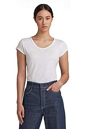 G-Star Damen Shirt Core Eyben Slim Short Sleeve