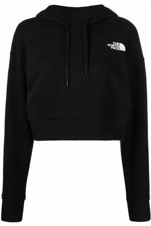 The North Face Damen Sweatshirts - Cropped-Hoodie mit Logo