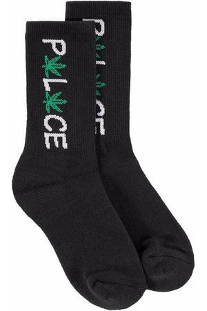 PALACE Herren Socken & Strümpfe - Pwlwce Socken mit Stickerei