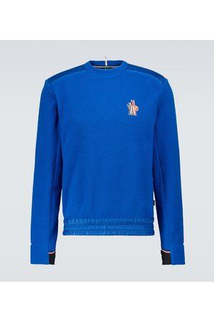 Moncler Sweatshirt aus Fleece mit Logo