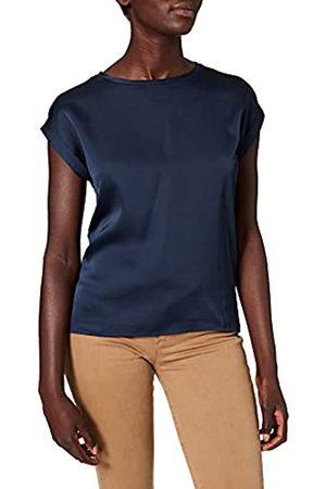 VILA Damen VIELLETTE S/S Satin TOP/SU-NOOS T-Shirt