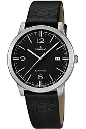 Candino Herren Analog Quarz Uhr mit Leder Armband C4511/4