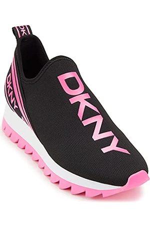 DKNY Abbi Women Black/Pink Trainers-UK 3 / EU 36