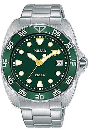 Pulsar Herren Analog Quarz Uhr mit Metall Armband PS9681X1