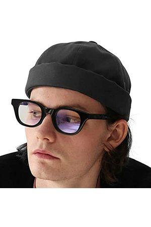 UNDERCONTROL Krempenlose Matrosen-Mütze für Damen und Herren, mit Rollen, ohne Visier
