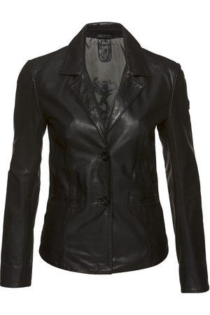 Gipsy Damen Lederjacken - Lederjacke »Mya«, im modischem Blazer-Stil mit Reverskragen