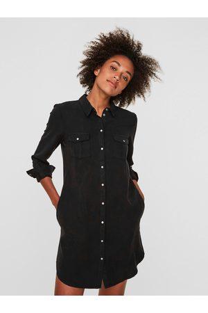 VERO MODA Damen Freizeitkleider - Jeanskleid »VMSILLA«