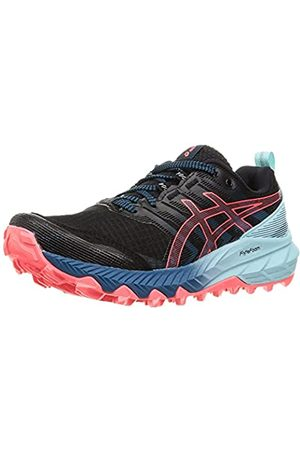 ASICS Damen Gel-Trabuco 9 Road Running Shoe, Black/Blazing Coral