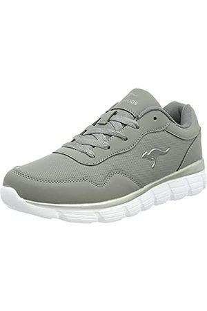 KangaROOS KR-Cali Damen Sneaker, (steel grey/silver)