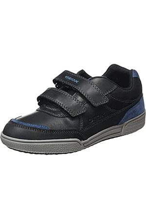 Geox Junior Boy J POSEIDO BOY SNEAKERS BLACK/BLUE_39 EU
