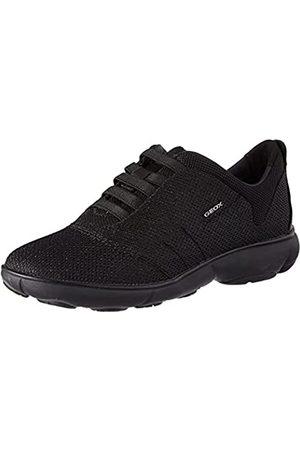 Geox Damen D Nebula C Sneaker, Black