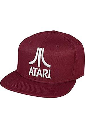 Atari SB060502ATA Classic Logo Snapback Baseball Cap Baseballkappe, Red