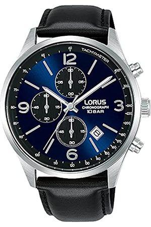Lorus Herren Analog Quarz Uhr mit Leder Armband RM317HX9