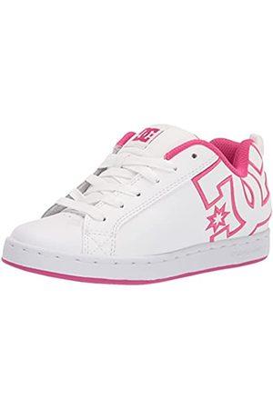 DC Damen Court Graffik Skate-Schuh, /Crazy Pink/