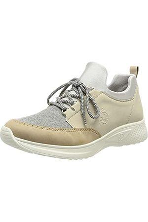Rieker Damen N8763 Sneaker, Kombi / 60