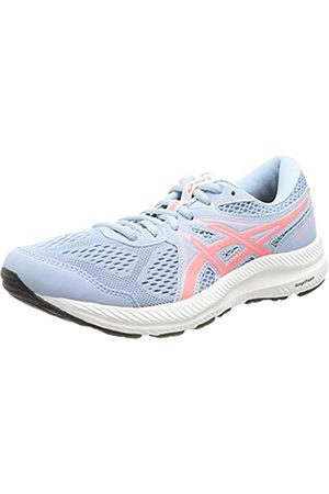 Asics Damen Gel-Contend 7 Running Shoe, Mist/Blazing Coral