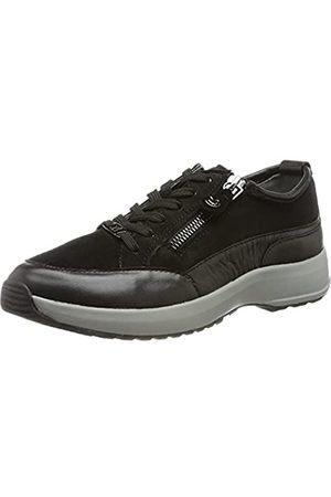 Caprice Damen 9-9-23705-27 Sneaker, BLK C./GR.Sole
