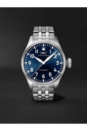 IWC SCHAFFHAUSEN Herren Uhren - Big Pilot's Automatic 43mm Stainless Steel Watch, Ref. No. IW329304
