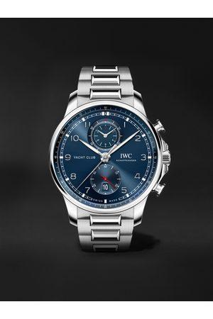 IWC SCHAFFHAUSEN Herren Uhren - Portugieser Yacht Club Automatic Chronograph 44.6mm Stainless Steel Watch, Ref. No. IW390701