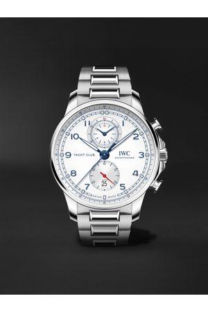 IWC SCHAFFHAUSEN Herren Uhren - Portugieser Yacht Club Automatic Chronograph 44.6mm Stainless Steel Watch, Ref. No. IW390702