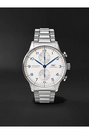 IWC SCHAFFHAUSEN Portugieser Chronograph 41mm Stainless Steel Watch, Ref. No. IW371617