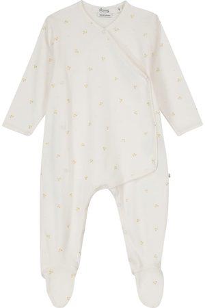 BONPOINT Baby Bestickter Strampler aus Baumwolle